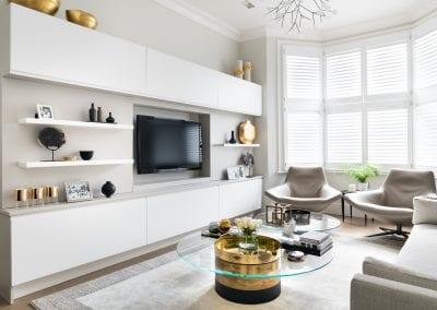 Casey & Fox | Contemporary Living Room